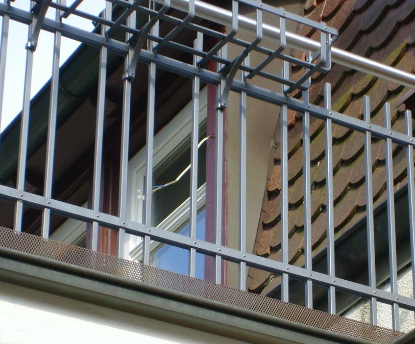 20 balkongeländer genietet • nürnberg