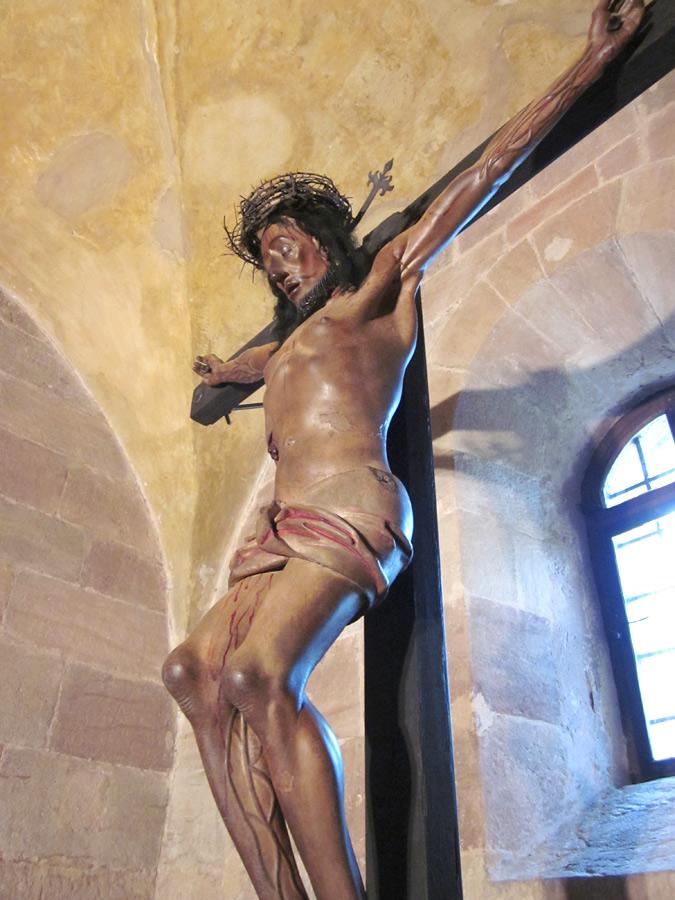 73 echthaar kruzifix beschläge u. montage • kaiserburg nürnberg